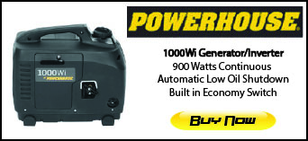 Powerhouse Generators On Sale Now!